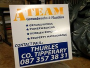 A Team Ground Works & Plant Hire
