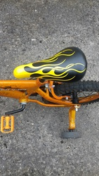 Bike Huffy Inerferno Childs Yellow and Black bike